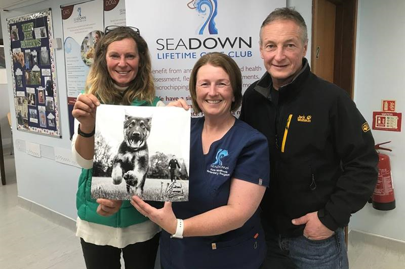 Prize is picture perfect for dog rescuer Alison